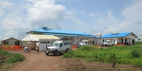 A clinic in Sierra Leone
